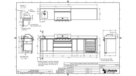 build in oven designer series outdoor kitchens lifestyle bbqs