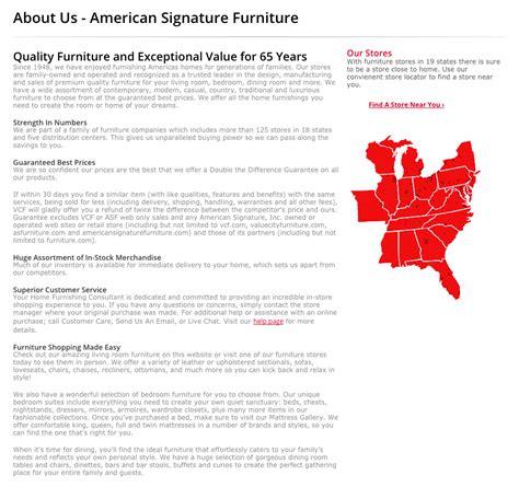 84 american home furniture shopping image iron