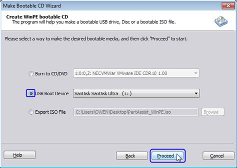 How To Run Bootable Partition Manager From Usb?