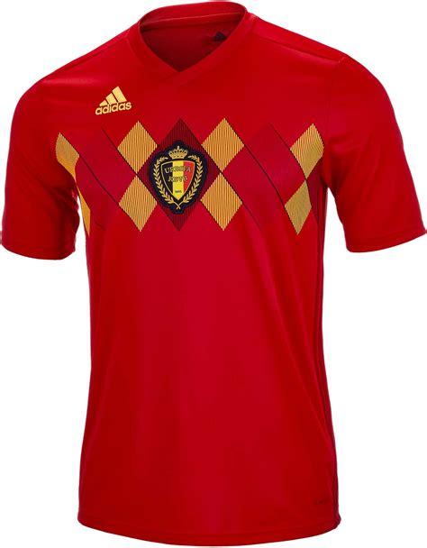 adidas Belgium Home Jersey 2018-19 - Soccer Master