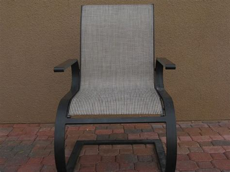 Sling Patio Chairs Has A More Comfort To The Terrace