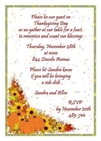 thanksgiving dinner invitation cards 5631 ibu tg