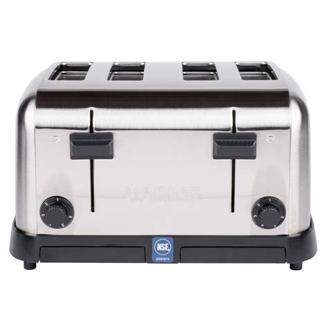 waring 4 slice commercial toaster waring wct708 4 slice commercial toaster 120v