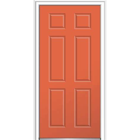 MMI Door 32 in. x 80 in. 6 Panel Left Hand Inswing Classic