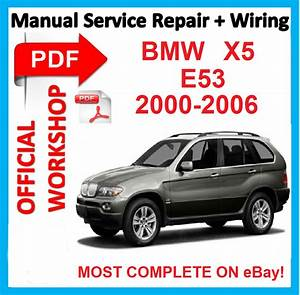 Official Workshop Manual Service Repair For Bmw X5 E53
