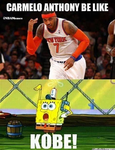 Carmelo Anthony Meme On