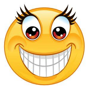 crazy big smile emoji sticker