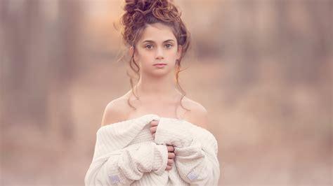 壁紙 かわいい女の子、髪型、白いドレス 1920x1200 Hd 無料のデスクトップの背景, 画像
