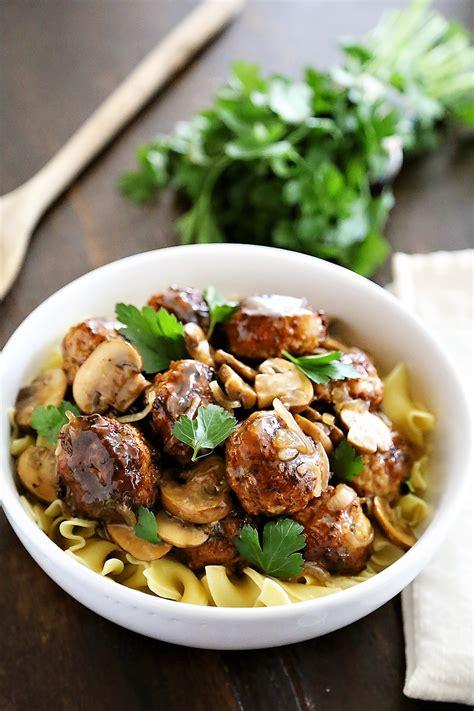 marsala cuisine chicken marsala meatballs the comfort kitchen bloglovin