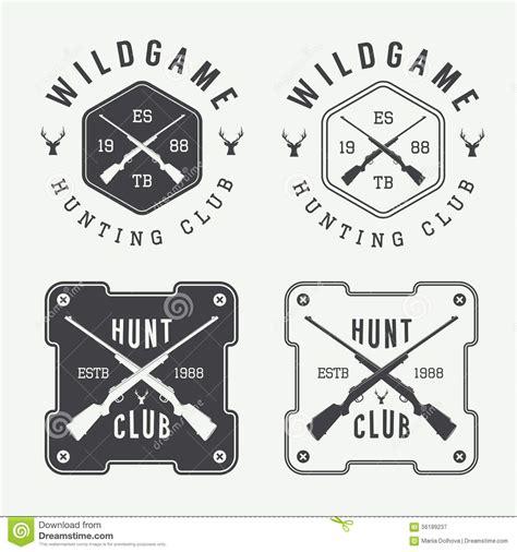 set of vintage labels logo badge and design elements stock vector 56189237