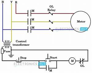 3 Phase Motor Schematic Diagram