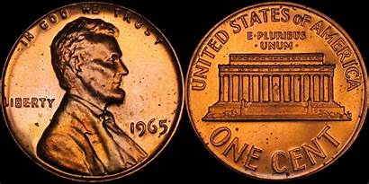 1965 Sms Penny Coin Rainbow Give Hoping