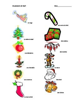 french christmas vocabulary activities  jill weatherhead