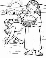 Coloring Quail Manna Water Children Heaven Popular sketch template