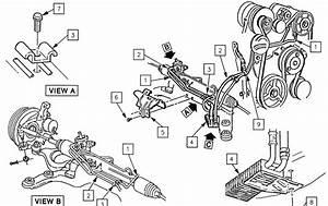 2002 Chevy Trailblazer Power Steering Lines Diagram