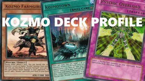 Tcg Deck List Sheet 2015 by Kozmo Space Wizards Deck Profile Aug 2015 Yugioh