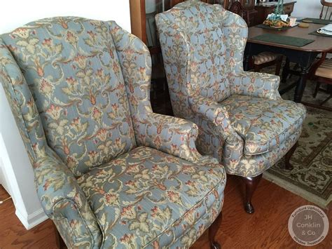 Cost To Re-upholster A Wing Chair