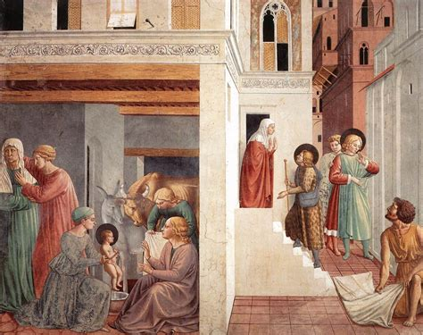 st francis of assisi date of birth birth of st francis prophecy of the birth by a pilgrim homage of the simple 1452