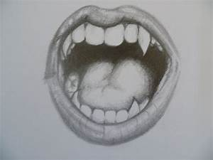 pencil drawing vampire teeth - Google Search | Things I'm ...