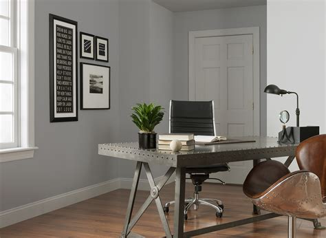 granite grey office home office colours rooms