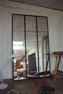 Miroir Maison Du Monde Industriel : miroir industriel par le marchand d 39 oublis ~ Teatrodelosmanantiales.com Idées de Décoration