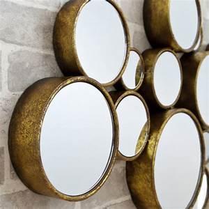 U0026, 39, Funky, U0026, 39, Circles, Mirror, By, Decorative, Mirrors, Online