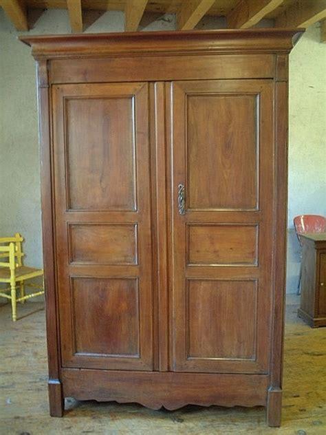Armoire Directoire Ancienne Merisier Chataignier