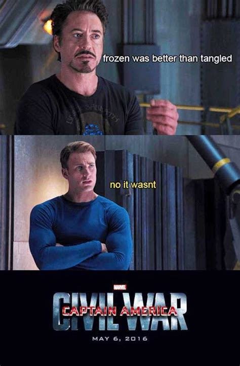 Captain America Meme - these captain america civil war memes explain why tony and steve are really fighting