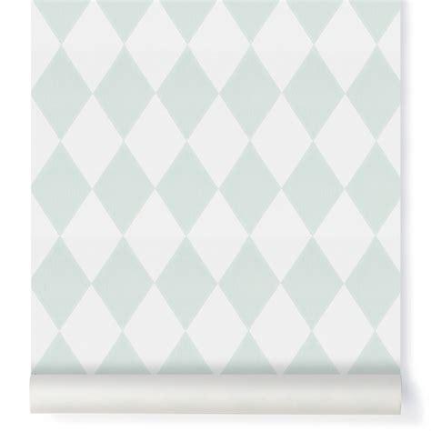 papier peint pour chambre bebe fille papier peint harlequin vert menthe ferm living design enfant