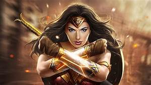 Wonder, Woman, Newart, 2019, Hd, Superheroes, 4k, Wallpapers, Images, Backgrounds, Photos, And, Pictures