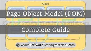 Page Object Model With Page Factory In Selenium