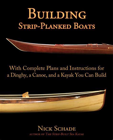 building strip planked boats guillemot kayaks small