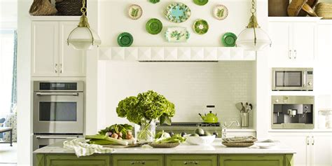 Green Kitchens : Ideas For Green Kitchen Design