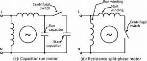 Single Phase Capcitor Wiring Diagram