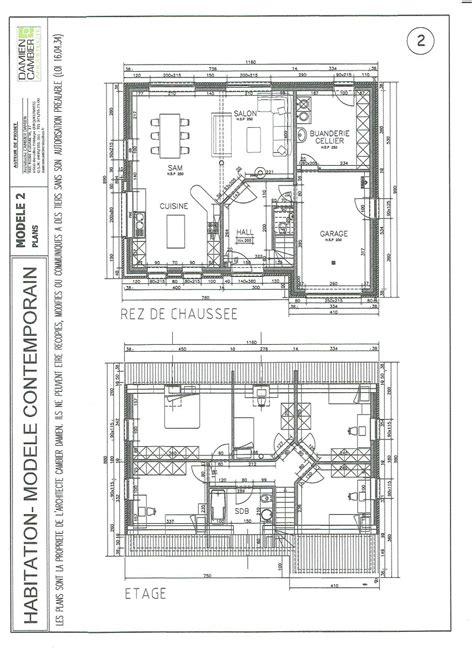 plan et modele de maison nord maubeuge jeumont