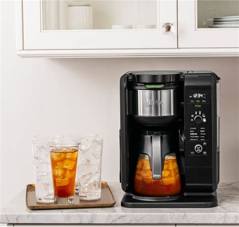 It brews quick, depending on your coffee brand you will get the brewed coffee as good as. Ninja Hot and Cold Brewed System with Glass Carafe | Ninja coffee maker, Coffee maker, Ninja ...