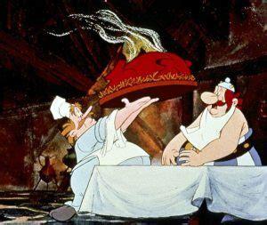 unlogische dinge bei asterix erobert rom
