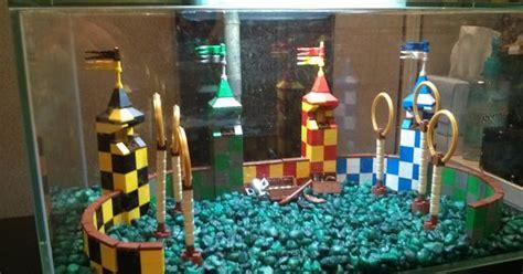 quidditch aquarium decoration build aquarium decorations