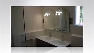 Salle De Bain Rénovation : r novation de salle de bain youtube ~ Nature-et-papiers.com Idées de Décoration
