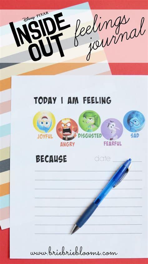 printable   feelings journal child