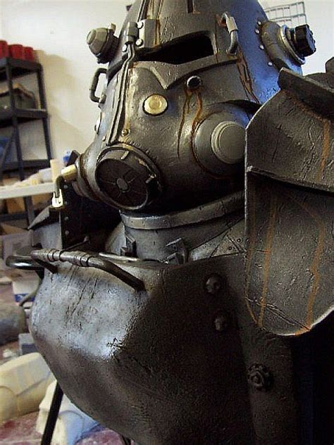 heavy cosplay sick fallout  power armor costume