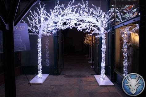 led crystal archway narnia theme party hire prom ideas