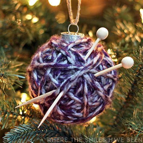 super cute yarn ball ornament allfreeknitting com