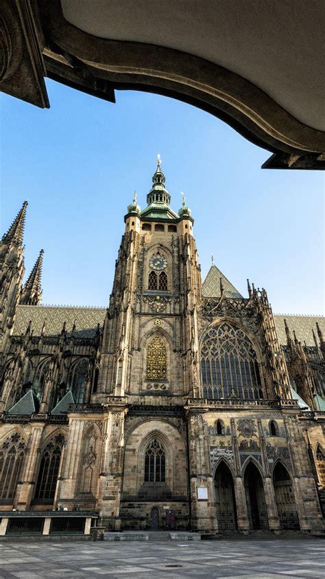wallpaper cathedral  st vitus prague castle czech