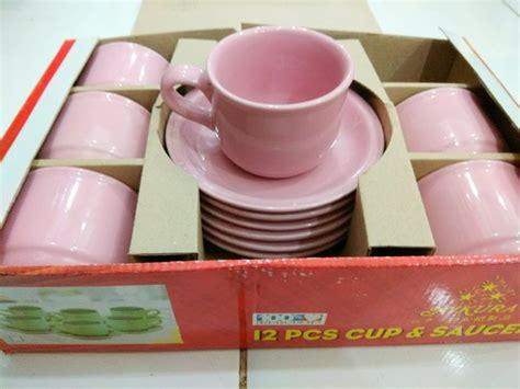 Cangkir Set Espresso Keramik jual cangkir set kopi set tea set keramik cup n saucer