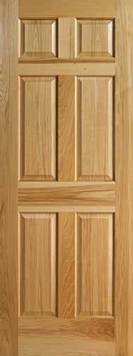 6 Panel Wood Interior Doors by Hickory 6 Panel Interior Doors With Raised Panels