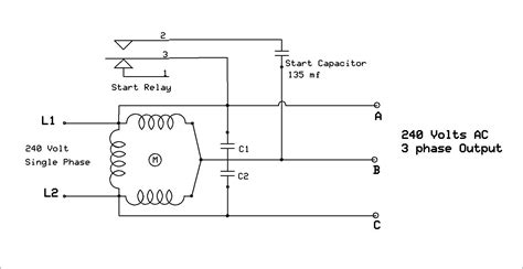 How Wire Single Phase Motor With Capacitor