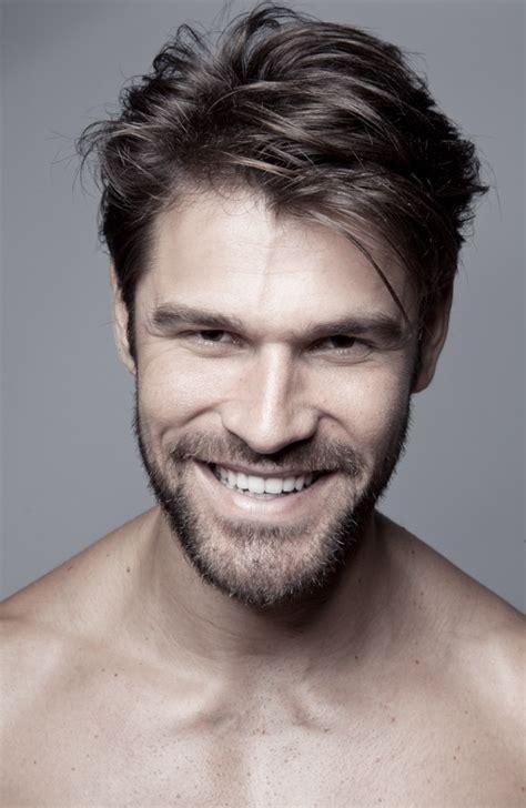 men short hairstyle  beard    haircuts