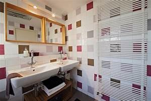 Carrelage Et Salle De Bain : carrelage mural pour salle de bain choisir celui qui convient ~ Melissatoandfro.com Idées de Décoration