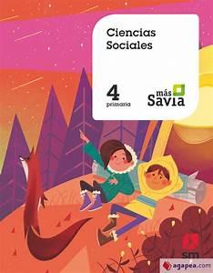 Ciencias Sociales  4 Primaria  Mas Savia  Ediciones Sm
